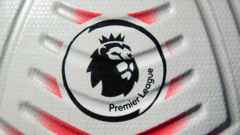 MANCHESTER, ENGLAND - OCTOBER 01: The official Nike Premier League Match Ball on October 1, 2020 in Manchester, United Kingdom. (Photo by Visionhaus)