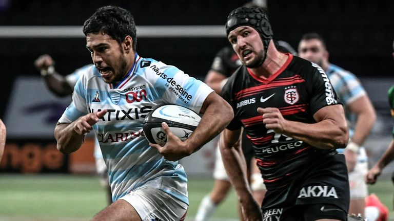 Racing 92 fielded a weakened side against Toulouse in France's Top 14