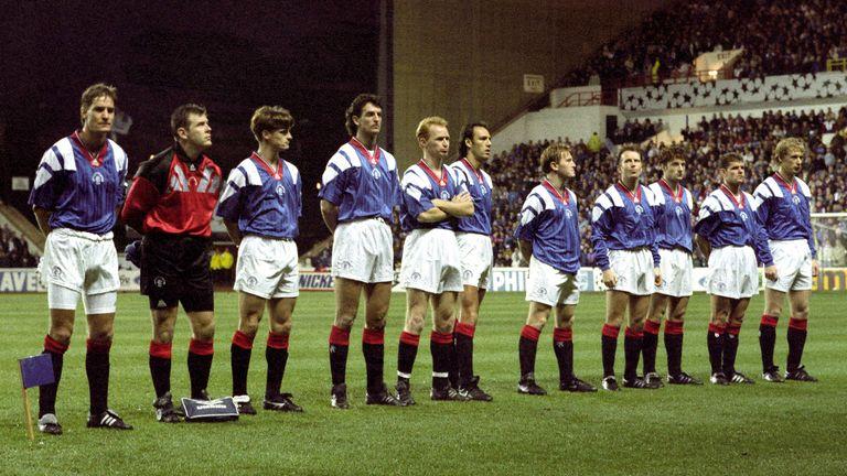 Rangers Champions League 1992/93