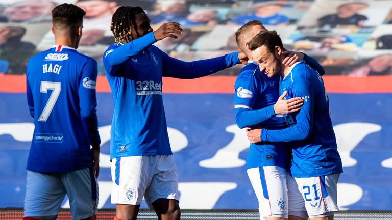 Rangers 2-0 Ross County: James Tavernier fires Gers back to the top