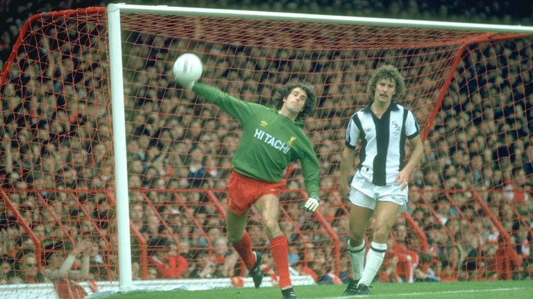 Clemence made 665 appearances for Liverpool during a long and distinguished career. Credit: Allsport UK /Allsport