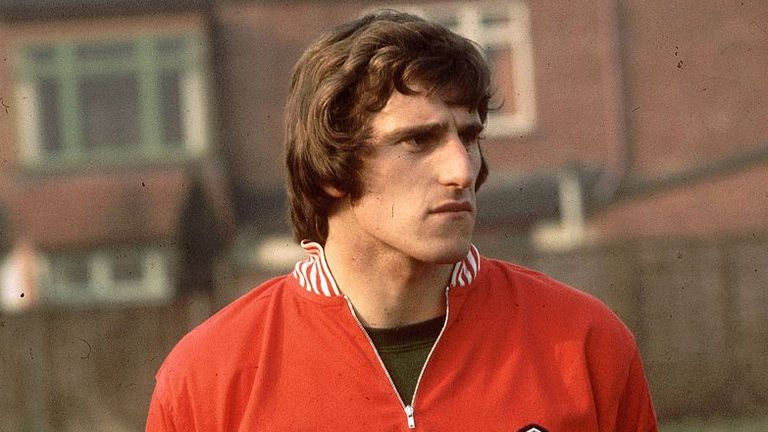 Clemence, seen here on international duty in 1972, made 61 appearances for England