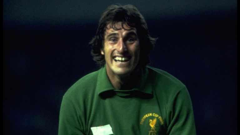 Ray Clemence was part of the Liverpool team that won three European Cup titles between  1977 and 1981