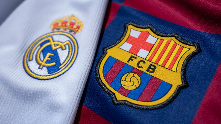 Barcelona Vs Real Madrid Two Teams Marooned In Transition And Turmoil Meet In El Clasico Football News Sky Sports