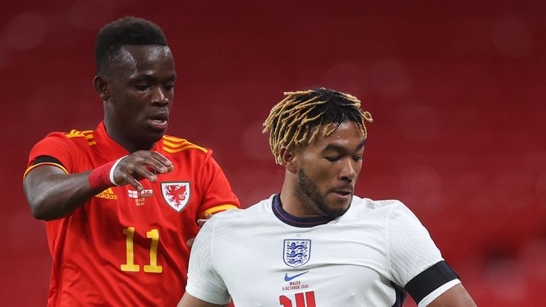 Reece James made his senior England debut as a second-half substitute in the friendly win over Wales