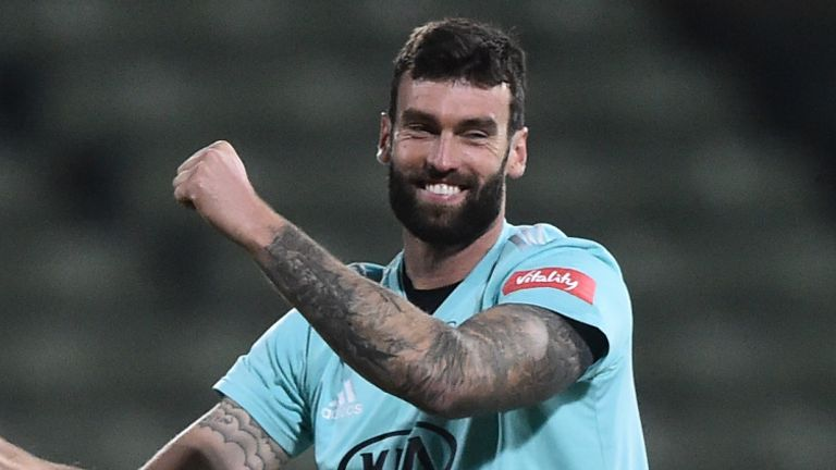 Reece Topley has been plagued by injuries in recent years but Bumble thinks he could be an option for next winter's Ashes