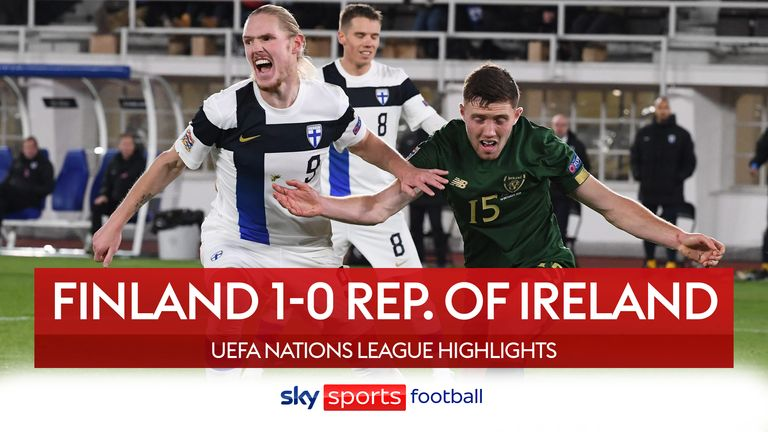 Finland 0-1 Rep of ireland