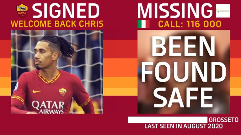 Roma's campaign has helped find seven children since it's launch last year