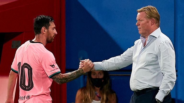 Will Bartomeu's resignation impact the future of Ronald Koeman and Messi?