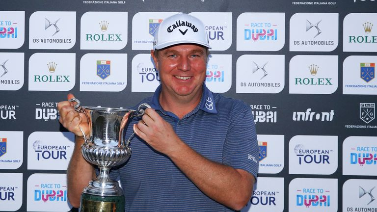 McGowan's European Tour win was his first since the 2009 Madrid Masters