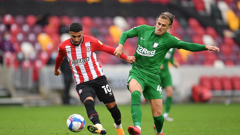 Brentford's Said Benrahma could yet move to West Ham before the October 16 deadline