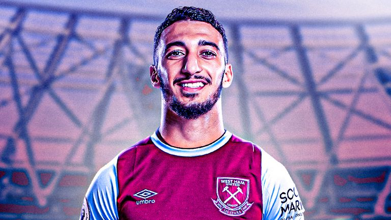 Said Benrahma has joined West Ham on loan