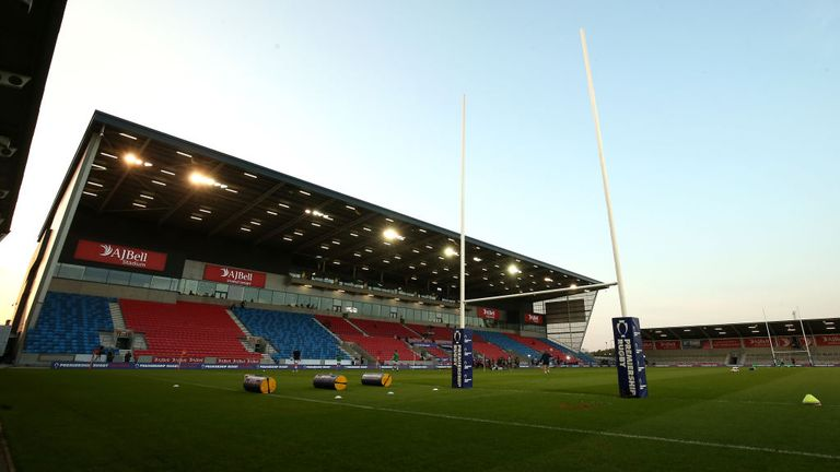 Sale Sharks had been due to play Worcester on Sunday