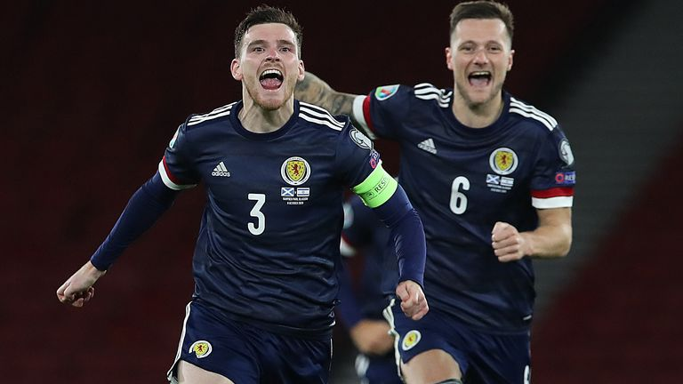 Scotland vs Czech Republic: Are things starting to turn for Tartan Army? |  Football News | Sky Sports