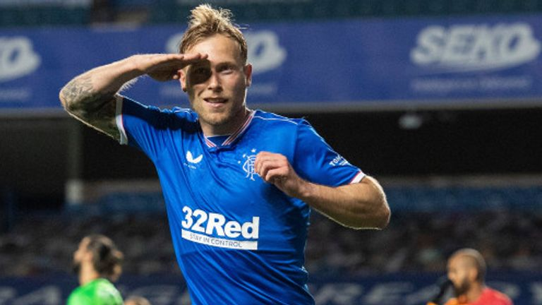 Scott Arfield set Rangers on course for the Europa League group stage