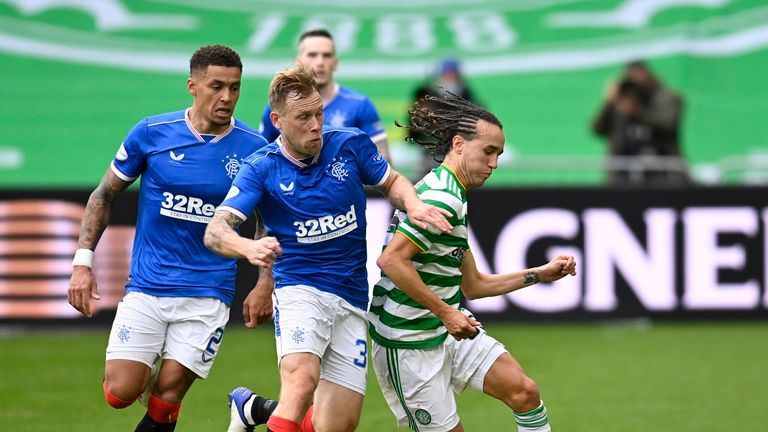 Scott Arfield's intricate play helped force Rangers into a two-goal lead after half-time