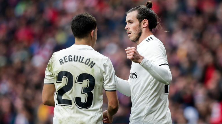 Reguilon and Bale played together during the 2018/19 season