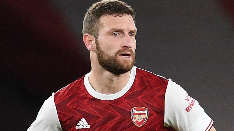 Arsenal defender Shkodran Mustafi