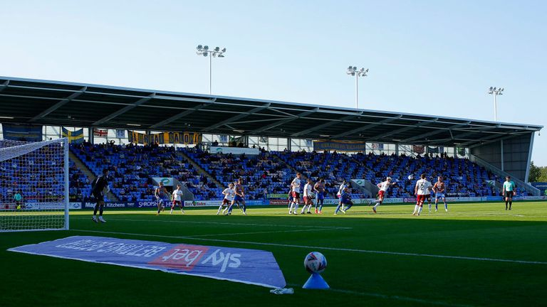 EFL clubs have seen their income enormously reduced by the inability to fully open their stadiums during the coronavirus crisis