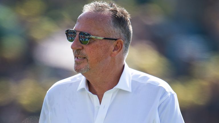 Sir Ian Botham has been introduced as a peer at the House of Lord's for the first time