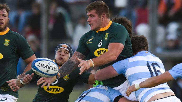 South Africa are due to play Argentina in their opening Rugby Championship match
