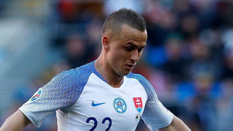Slovakia's Stanislav Lobotka will miss Thursday's game after a series of coronavirus cases at Napoli
