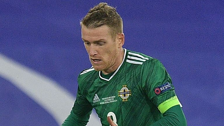 Steven Davis is set to become Northern Ireland's most-capped player