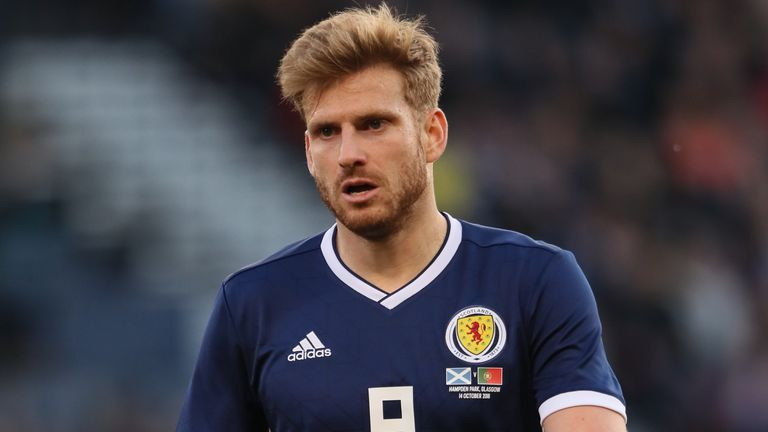 Stuart Armstrong has tested positive for Covid-19