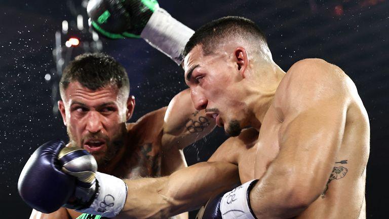 Lopez vs Lomachenko