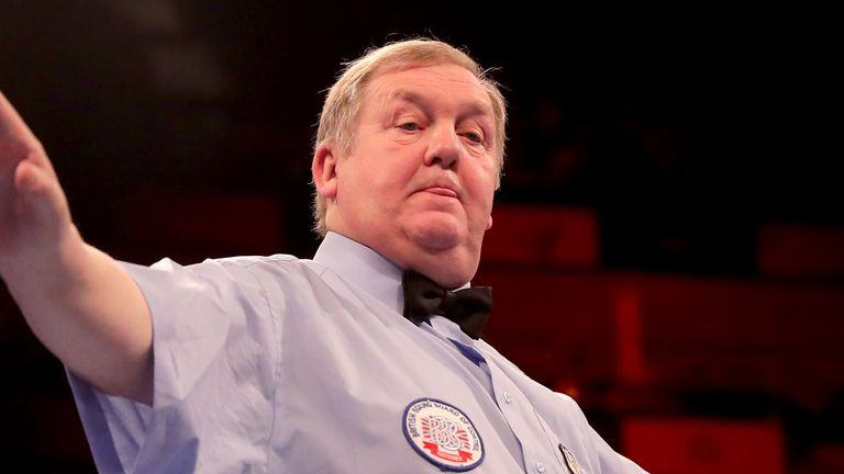 Terry O'Connor has been cleared of any wrongdoing after an investigation by the British Boxing Board of Control