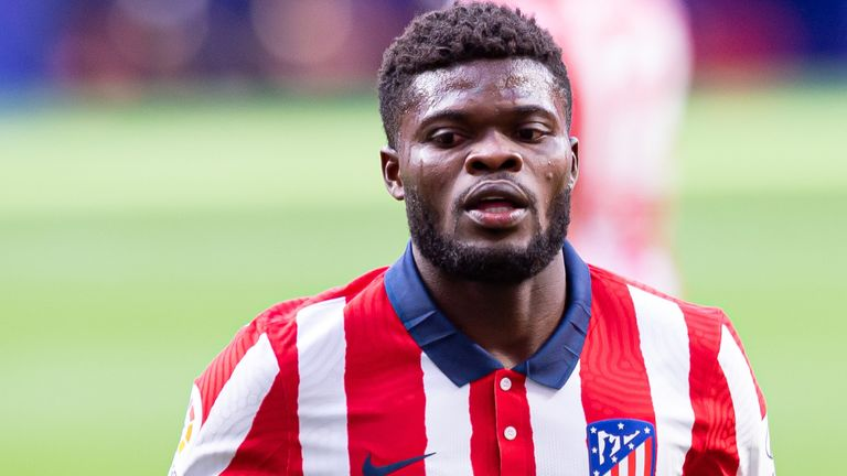 Arsenal are set to make a late bid for Thomas Partey