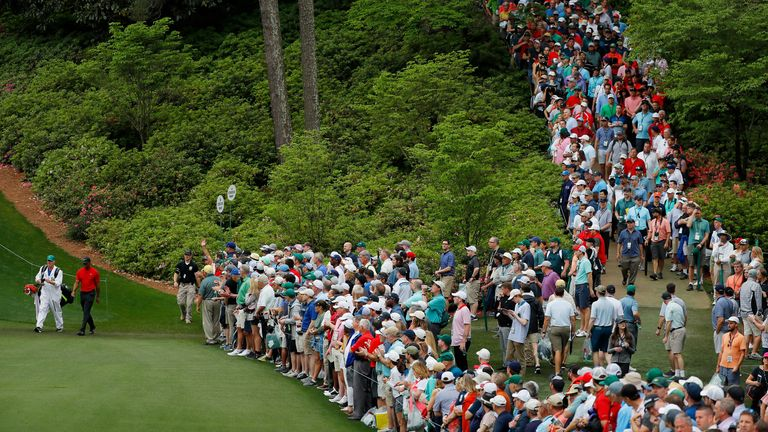 No patrons will be allowed this year at Augusta National