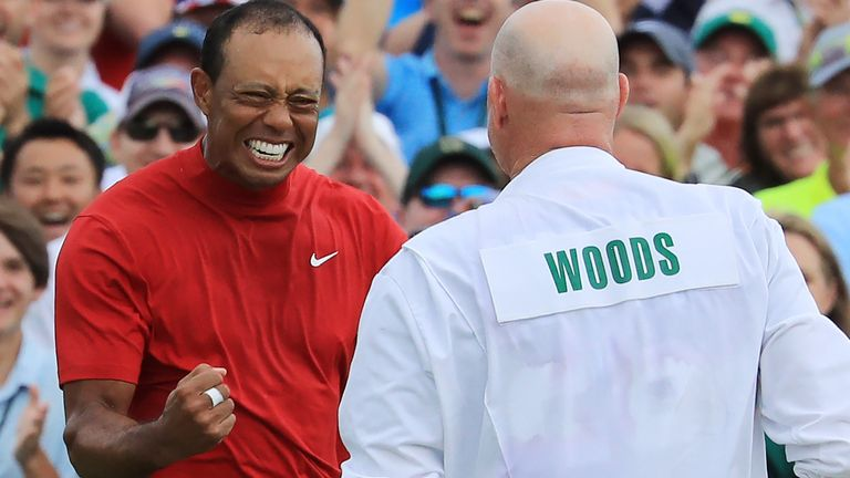 Woods registered his fifth Masters victory in the 2019 contest