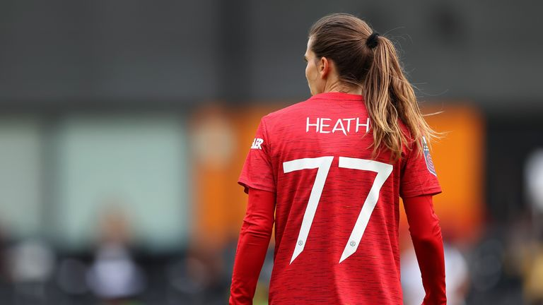 USA international Tobin Heath was a high-profile acquisition for United during the transfer window