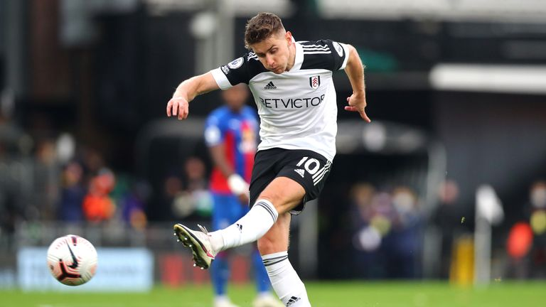 Tom Cairney shoots and scores from distance