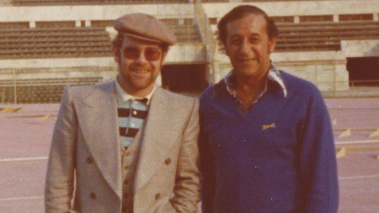 Tony Collins Elton John