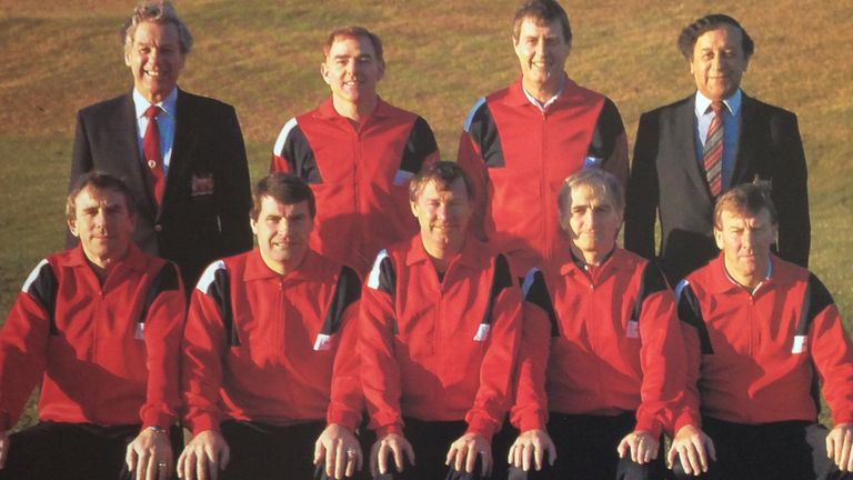 Tony Collins Sir Alex Man Utd
