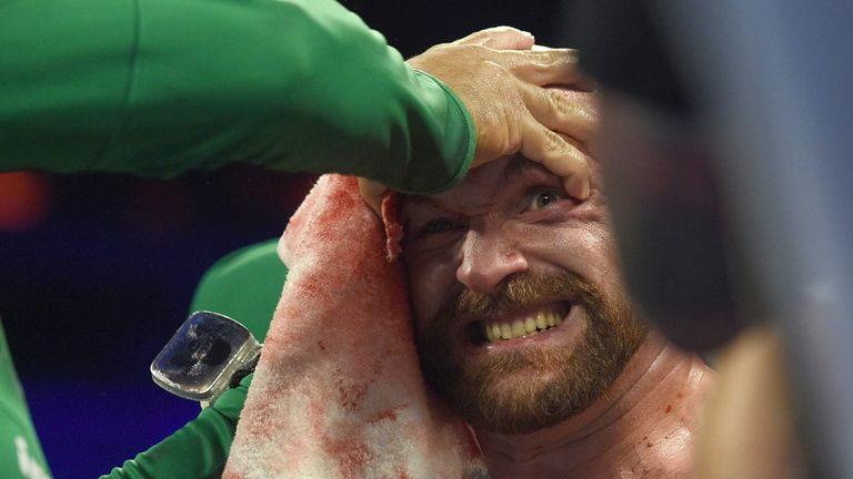 Fury overcame a huge obstacle against Wallin