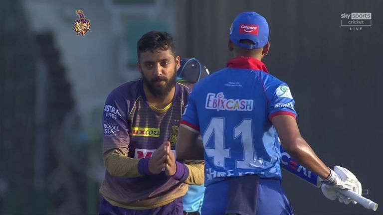 Varun Chakravarthy's figures of 5-20 are the best in this year's IPL