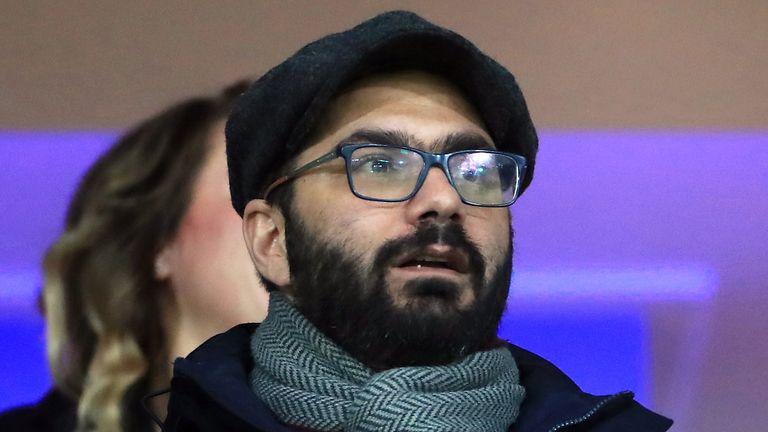 Leeds United's director of football Victor Orta