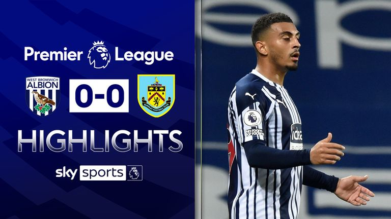 West Brom 0-0 Burnley