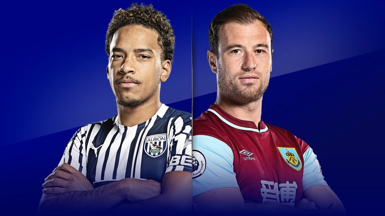 Live match preview - W Brom vs Burnley 19.10.2020