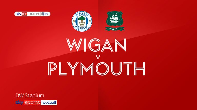 Wigan Plymouth