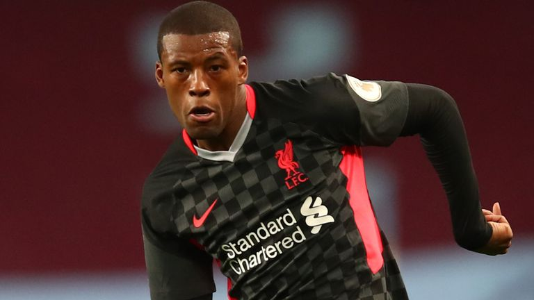 Wijnaldum's contract with the Premier League holders is due to expire in 2021