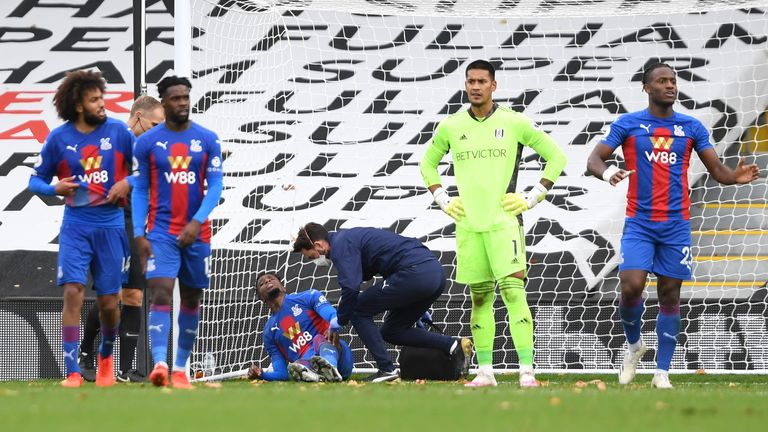 Zaha was rewarded for his bravery to double Palace's lead on Saturday