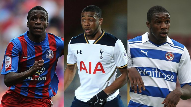 Wilfred Zaha Japhet Tanganga Michail Antonio Black London footballers