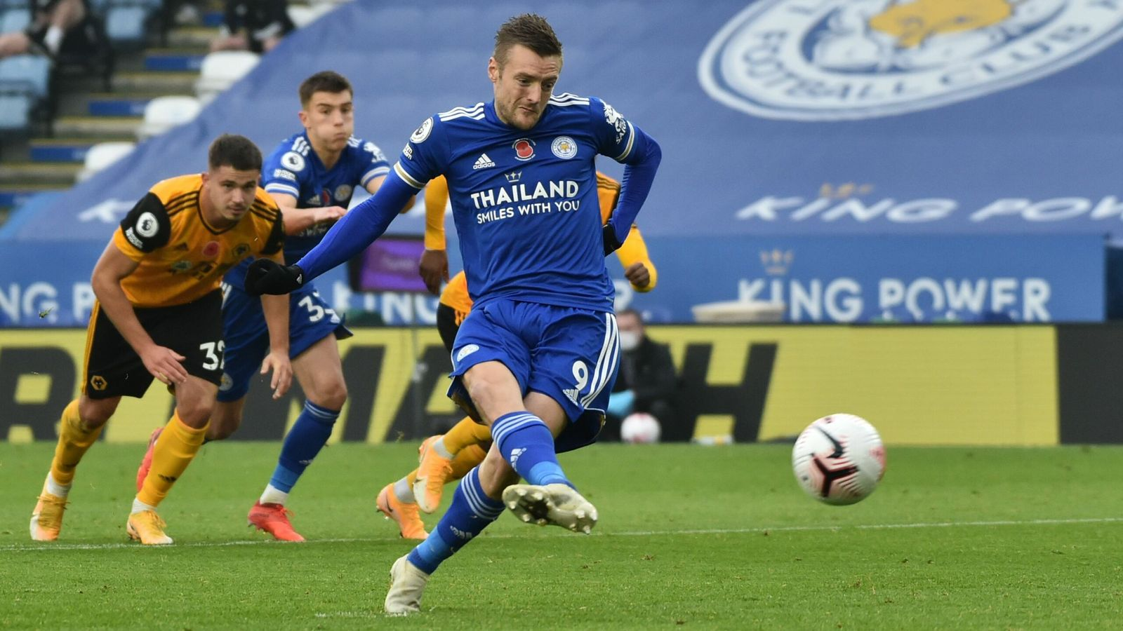 Leicester 1-0 Wolves: Jamie Vardy has mixed fortunes from ...