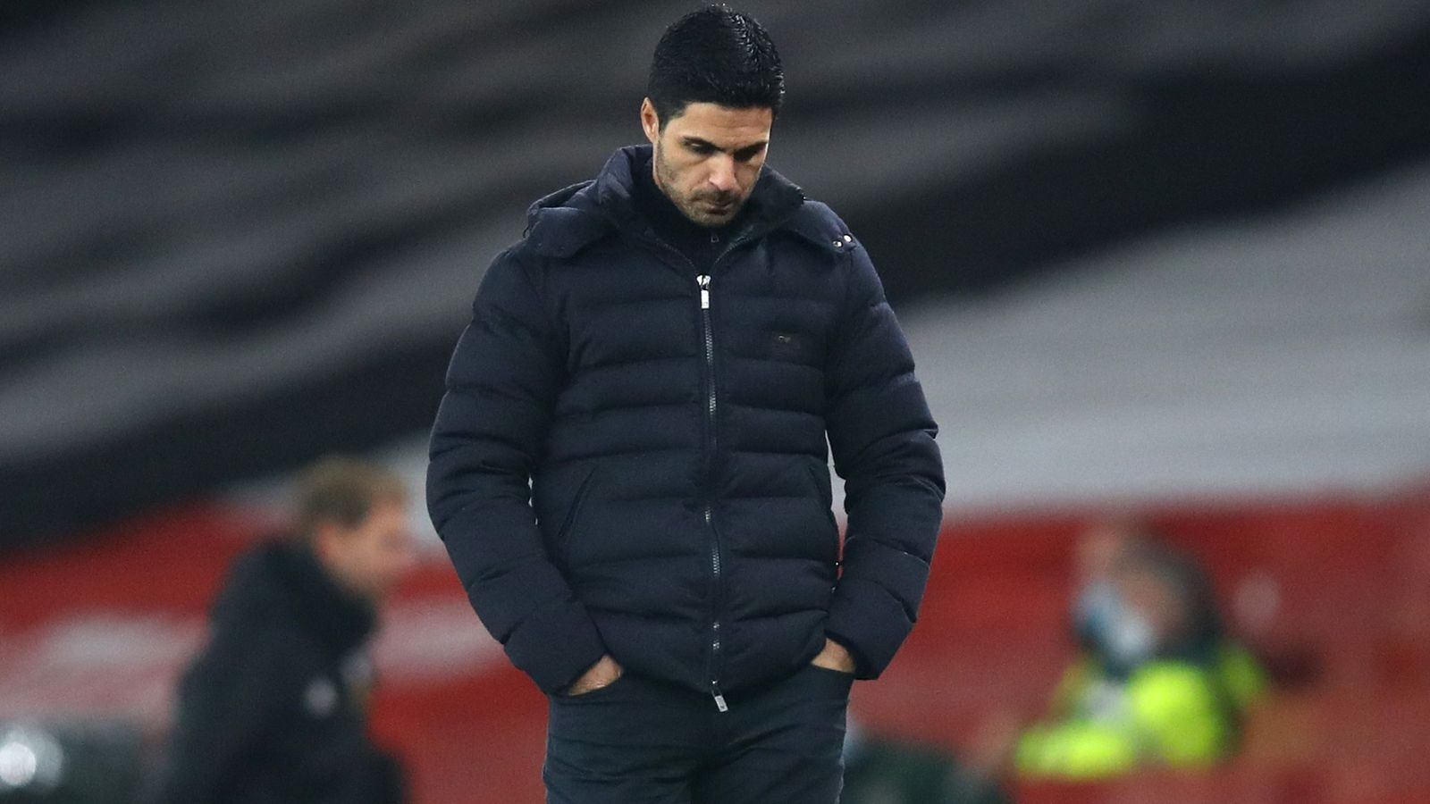 Mikel Arteta 'really concerned' by Arsenal form; Roy Keane says players 'aren't good enough' | Football News | Sky Sports