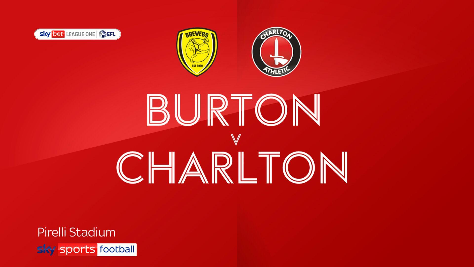 Burton defy form book to stun Charlton