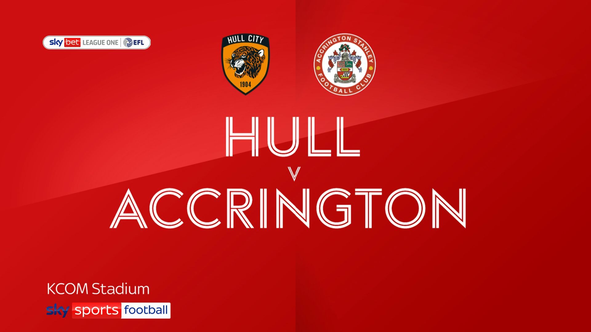 Hull ease past Accrington to go top of League One